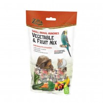 "Zilla Reptile Munchies Vegetable and Fruit 4 ounces 5.875"" x 2.75"" x 9.5"""