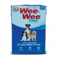 """Four Paws Wee-Wee Pads 7 pack White 22"""" x 23"""" x 0.1"""""""