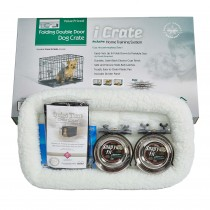 "Midwest iCrate Dog Crate Kit Extra Small 22"" x 13"" x 16"""
