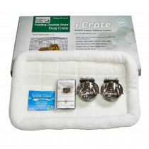 "Midwest iCrate Dog Crate Kit Large 36"" x 23"" x 25"""