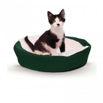 "K&H Pet Products Ultra Memory Round Pet Cuddle Nest 19"" x 19"" x 3"""