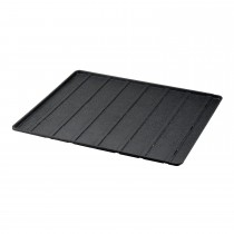 "Richell Expandable Floor Tray Medium Black 37""-62.2"" x 32.1"" x 1"""